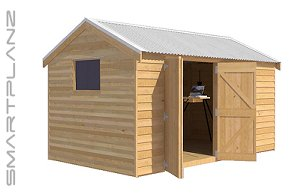 Gable Timber Shed